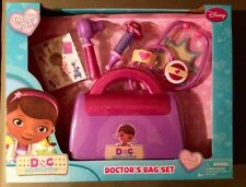 DISNEY DOC MCSTUFFINS DOCTOR'S BAG SET NEW IN SEALED BOX PLAYSET HAS SHELF WEAR