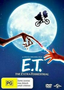 E.T. THE EXTRA -TERRESTRIAL DVD 1982 DREW BARRYMORE BRAND NEW UNSEALED REGION 4
