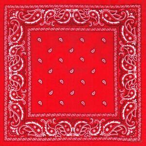 Red Bandana LARGE SIZE