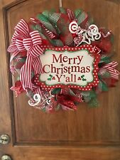 christmas wreath Lighted