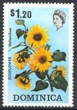 Commonwealth of DOMINICA - 1973 - Sunflower - MNH Stamp - Sc. #371