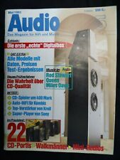 AUDIO 5/91,MERIDIAN 602,607,GRUNDIG DAT 9009,JVC XD Z 505,,SONY TCD D3,TEAC R 10