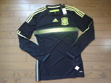 Spain 100% Authentic Player Issue Soccer Jersey 6 2014 World Cup Away BNWT [675]