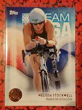 2016 Topps US Olympic Team USA Bronze #11 Melissa Stockwell  Paratriathlon