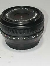 Fujinon Fuji XF 18mm f/2.0 lenti asferiche ED