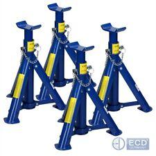 4x Crics chandelles de levage supports auto repliables tréteau béquille 2 tonnes