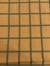 Nobilis France Check Design Embroidered Fabric