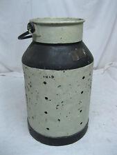 alte 20 Liter Milchkanne mit diversen Bohrungen