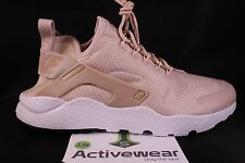 NIB NIKE Womens Air Huarache Run Ultra Running Shoes 819151-103 Oatmeal NO LID