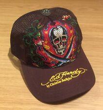 Brand New Vintage Men's Ed Hardy Trucker Hat / Baseball Cap. RRP £150