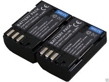 New 2pcs replacement camera Batteries D-Li90 D-BC50 D-L190 For Pentax K7 K5 645D
