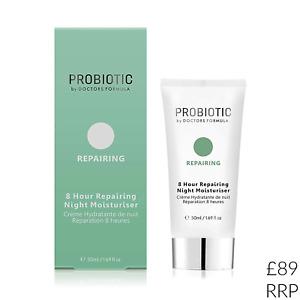 Probiotic Night Moisturiser 50ml Doctors Formula Repairing 8 Hour Coconut Oil