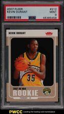 2007 Fleer Basketball Kevin Durant ROOKIE RC #212 PSA 9 MINT