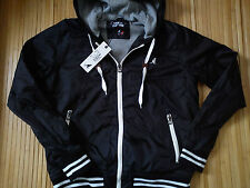NICE NEW KANGOL MENS JACKET HOODIE SIZE S/M OR BOY 13/14/15 YRS(0.6)