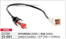 Carav 13-001 conector Gt13 DIN adaptador Antena cable Hyundai 2008 Kia 2008