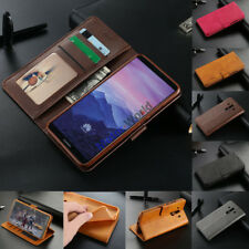 For Huawei Nova 2i Mate 10 Lite Luxury Magnetic Leather Wallet Card Case Cover