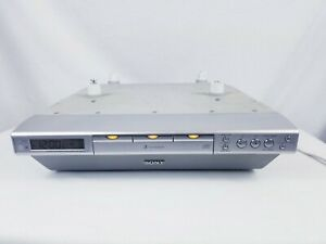 SONY ICF-CDK70 Under Kitchen 3 Disc DVD Player W/ Mounting Hardware Tested