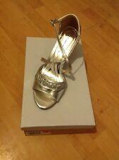 Beautiful Size 6 Silver/glitter Heels, New Shop Clearance (Tammy)