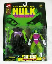 Marvel Comics Incredible Hulk She-Hulk Gamma Cross Bow Toy Biz 1996