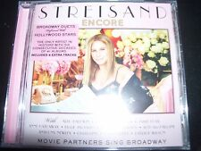BARBRA STREISAND Encore: Movie Partners Sing Broadway (Deluxe Edition) CD - NEW