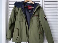 Green ANALOG Military style Jacket, Size S