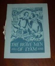 ' THE BRAVE MEN OF EYAM :  1665 - 1666 : (Radio Times) : Derbyshire/Plague: 1936