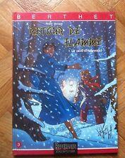 LE PRIVE D'HOLLYWOOD RETOUR DE FLAMME BERTHET EO TTBE + POSTER (C33)