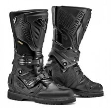 Sidi Adventure 2 Gore Black Size 8 Eur 42 Waterproof Motorcycle Boots Touring