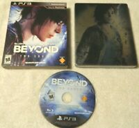 Beyond: Two Souls (Sony PlayStation 3, 2013) Disc, Steel Book, Cover - No Book