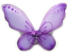 New Fairy Pixie Wings Dress Up Princess Butterfly Purple Tinkerbell