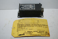 Falcon Jet Aircraft Part # Type 4830C Control Box- Yellow Tag 1980