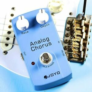 NEW JOYO JF-37 Chorus Analog Guitar Effect Pedal with True Bypass BBD Chip