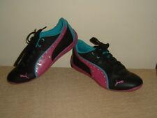 PUMA DRIFT CAT 6 DIAMONDS ladies womens older girlspink / black trainers shoes 5