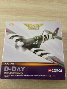 Corgi Aviation Archive AA31906 Spitfire MKVB U.S.Navy D-Day Normandy mib