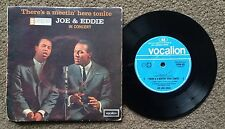 JOE & EDDIE - THERE'S A MEETIN' HERE TONITE - ORIG OZ VOCALION LABEL 4 TRACK EP