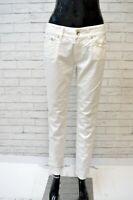 Pantalone Donna JACOB COHEN Size 28 Jeans Pants Elastico Hose Woman Classic
