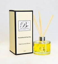 New diffuser Passionfruit & Paw Paw Triple Scented Diffuser 200ml Be Enlightened