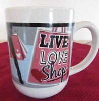 Mug - Live, Love, Shop Royal Norway  - NEW   -    348*