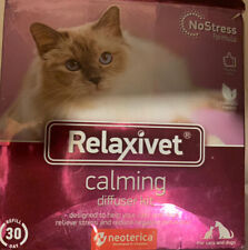 Relaxivet Natural Cat & Dog Calming Pheromone Diffuser, No-Stress, Long Effect