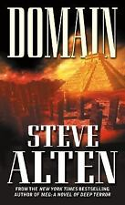 Domain by Steve Alten PB new