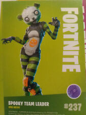 FORTNITE NR 237 Spooky Team Leader # 237 PANINI epic outfit