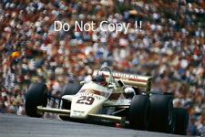 Marc Surer Arrows A6 Austrian Grand Prix 1983 Photograph