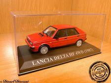 LANCIA DELTA HF4WD HF-4WD RED 1987 1:43 MINT!!!
