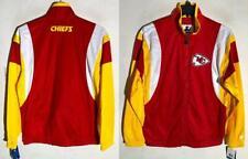 Red STARTER Kansas City Chiefs The Prime Vintage Full Snap Satin Jacket