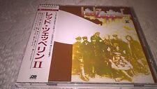 """Led Zeppelin """"Led Zeppelin II"""" JAPAN CD 32XD-565 w/OBI 3200Yen"""