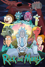 Rick and Morty Group Sanchez Maxi Poster Print 61x91.5cm24x36 inches