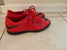 Nike Hypervenom Indoor Soccer Shoes Red Mens 6