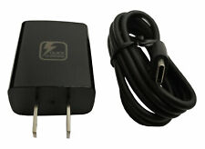 New OEM USB-C Fast Rapid Wall Charger - Wall Charger & cable - Alcatel - Black