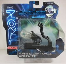 Disney Tron Legacy Forming Light Cycle Sam Flynn Action Pack 2010 Spinmaster