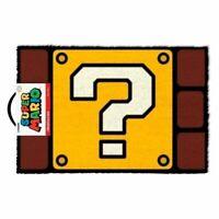 Super Mario Bros - Question Mark Block - Tapis - Paillasson - 40 x 60 cm